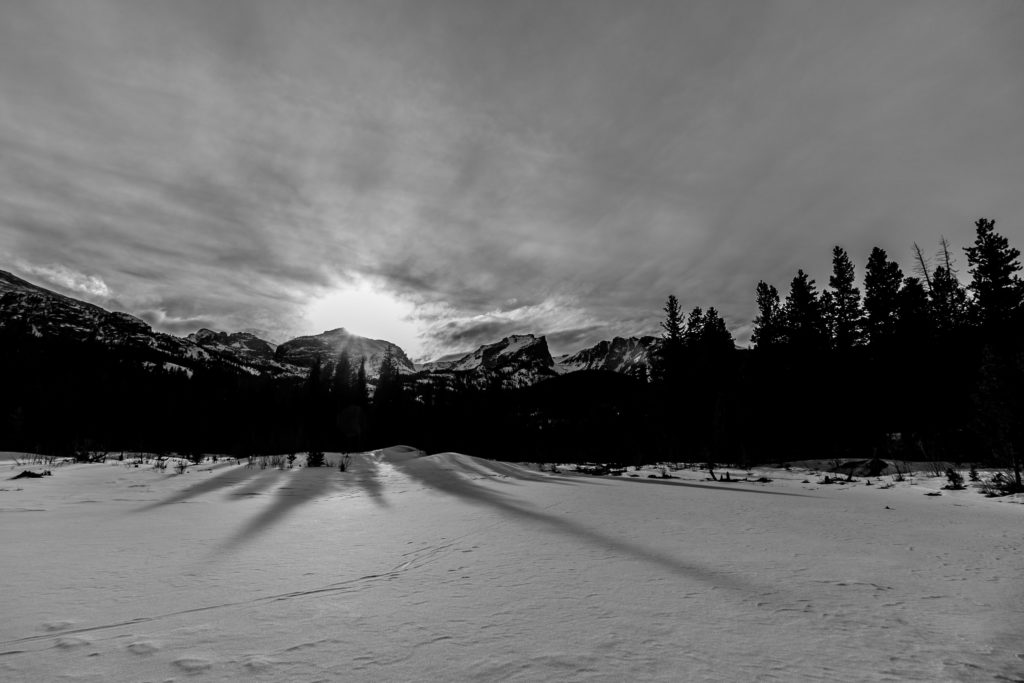 The images in this post are from a trip we took out to CO in Feb.
